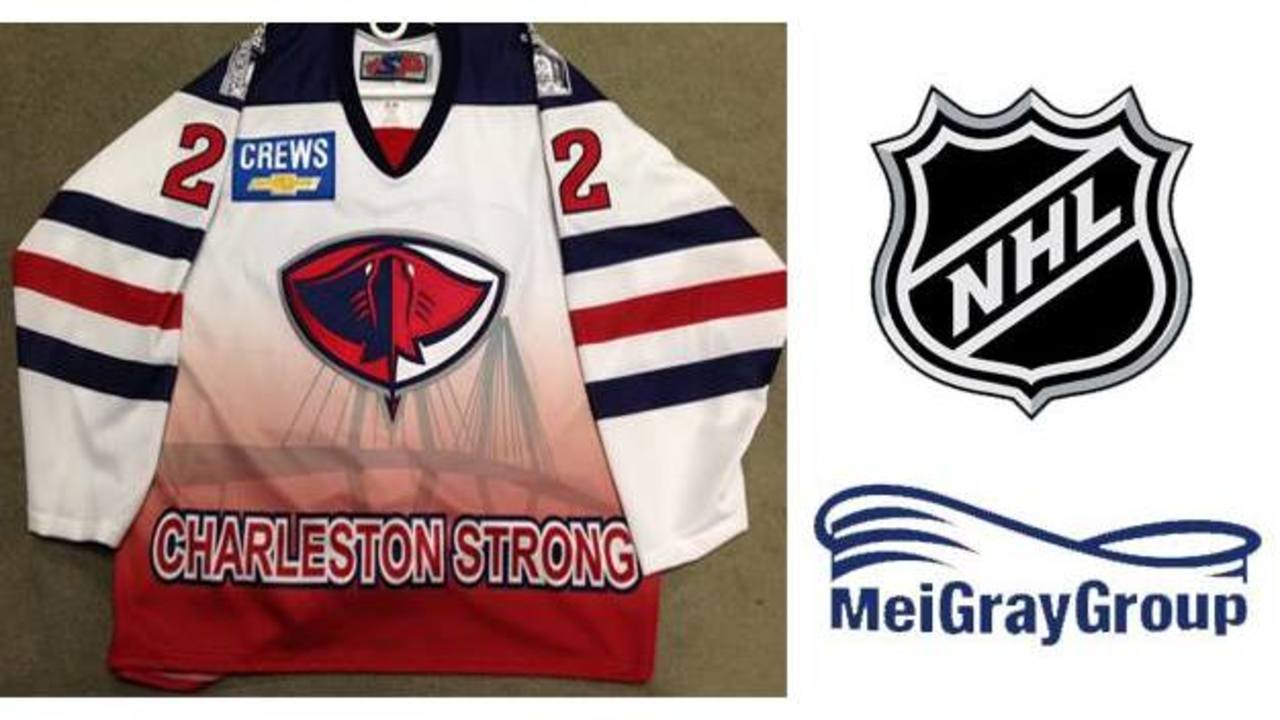 7be08e09b Charleston Strong jerseys to be auctioned online via NHL auctions