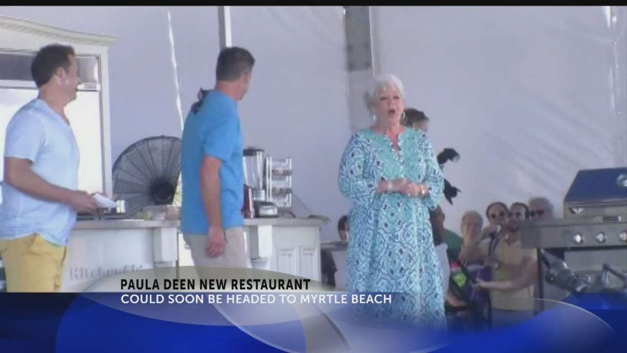 City of Myrtle Beach to review plans for new Paula Deen restaurant