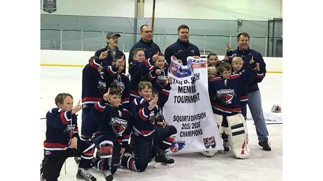 Champs! Squirt B team first Junior Rays program to go undefeated