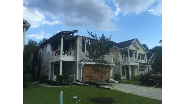 Ladson Community Is Concerned About Safety Of Burned Down House That Is Falling  Apart