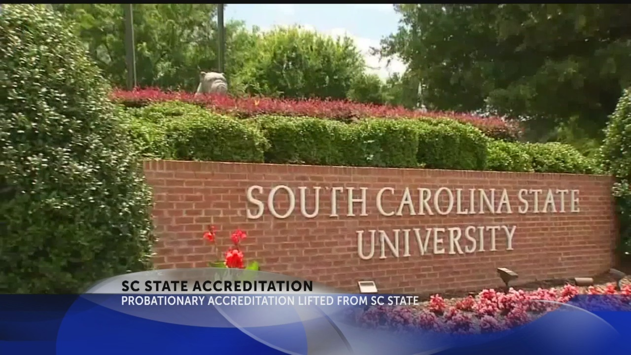 Cloud of probationary accreditation lifted from SC State