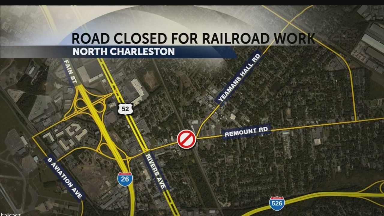 Remount Road Railroad Crossing Will Be Closed Until Weekend