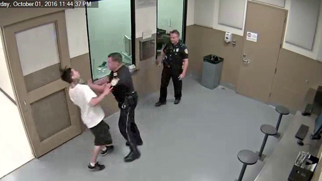 CAUGHT ON CAMERA: Texas officer beats inmate in jail