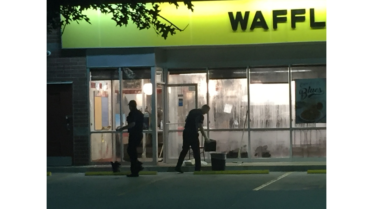 One Man Hospitalized Following Shooting At Waffle House