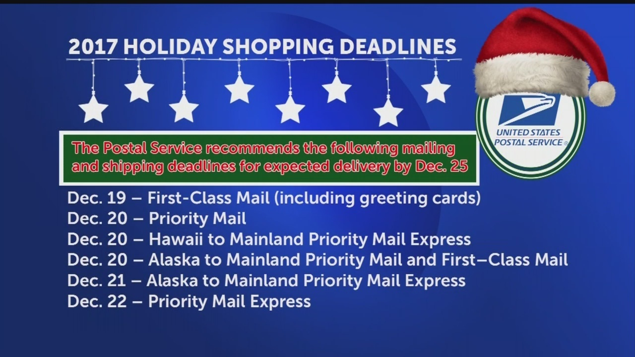 Busiest mailing, shipping, delivery week of holiday season ...