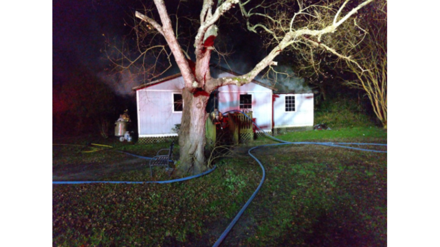 Family displaced following house fire in Mount Pleasant