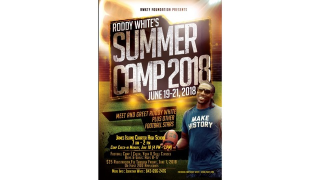 Roddy White camp coming to town