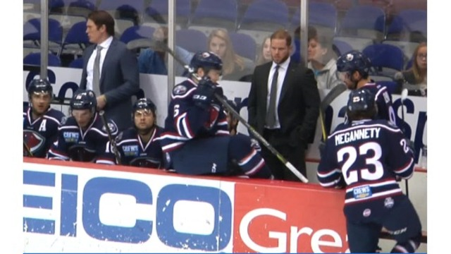 Stingrays' head coach leaving for AHL's Charlotte Checkers