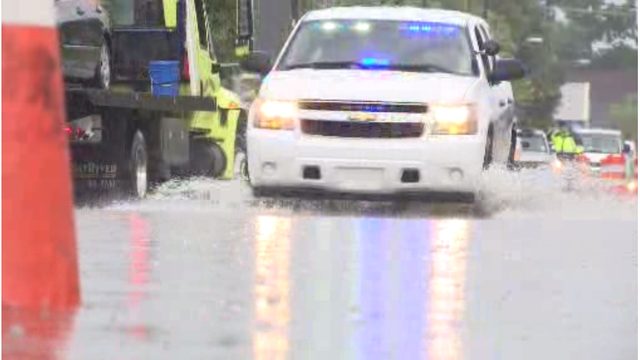 Charleston drainage project on track despite continued flooding