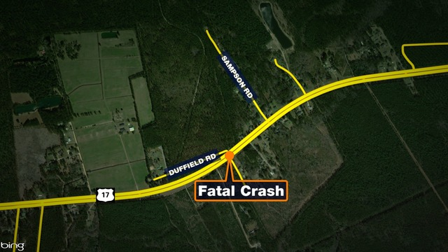 Coroner: Victim identified after being hit, killed on Hwy 17 in McClellanville