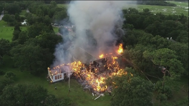Lowcountry family loses million dollar home in fire when 911 dispatch goes down