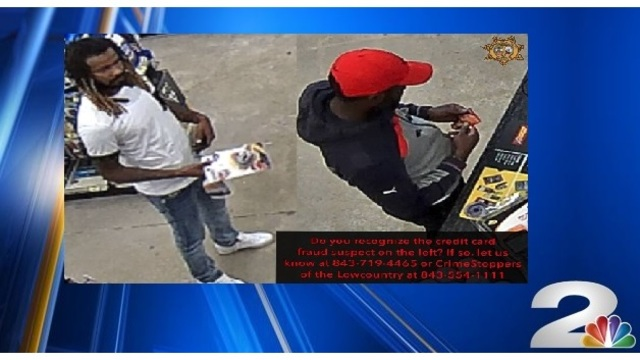 Deputies searching for suspects involved in 'sophisticated' credit card fraud