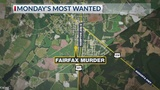 Monday's Most Wanted: Police looking for person who shot and killed a Fairfax man