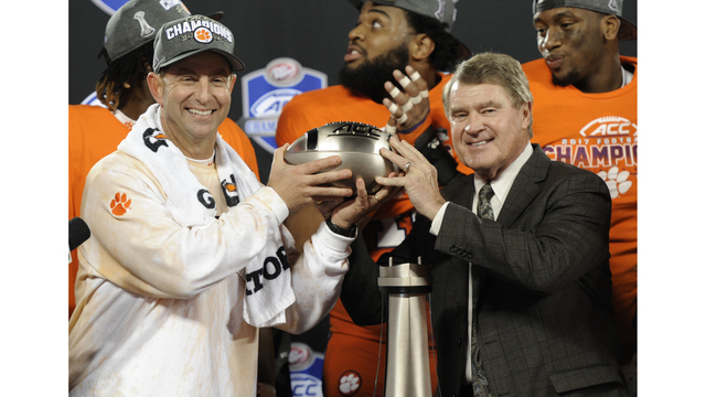Clemson dominates AP All-ACC teams released on Tuesday
