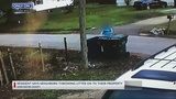 Ridgeville resident frustrated after neighbor caught throwing garbage on his property