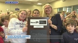 Charleston Day School receives the News 2 Cool School award