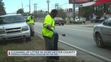 Dorchester County removes litter along Highway 78