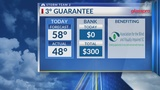 3 Degree Guarantee for Tuesday, March 5th