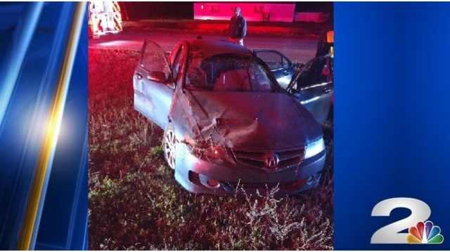 Multiple victims hospitalized following vehicle collision on Highway-17