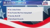 VP Mike Pence to campaign for Lindsey Graham in South Carolina
