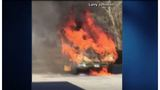 SC school bus catches fire during field trip