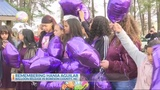 Remembering Hania Aguilar, balloon release in N.C.