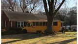 School bus driver swerves to miss squirrels, hits tree and house, SC officials say