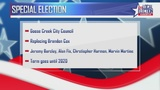 Goose Creek holds a special city council election Tuesday