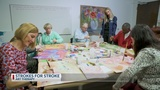 How art therapy is helping stoke victims communicate