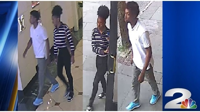Police searching for suspects following shoplifting incident in downtown Charleston
