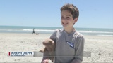 10-year-old organizes Earth Day beach clean-up