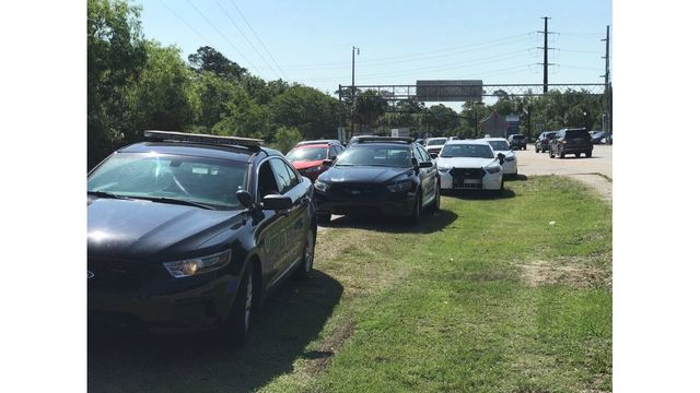 Several Lowcountry agencies conducted enforcement on the Ravenel Bridge