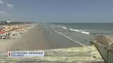 Rescue crews respond to swimmer in distress on Folly Beach
